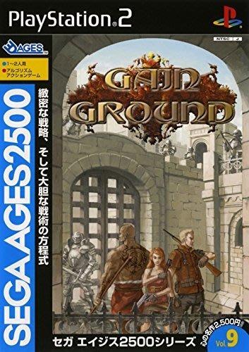 PS2 SEGA AGES 2500 系列 Vol.9 Gain Ground (領土擴展 大地槍聲) 純日版 二手品