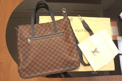 義大利946蜜月帶回的全新時尚Louis Vuitton N41255 HERALD LV棋盤格紋側背包