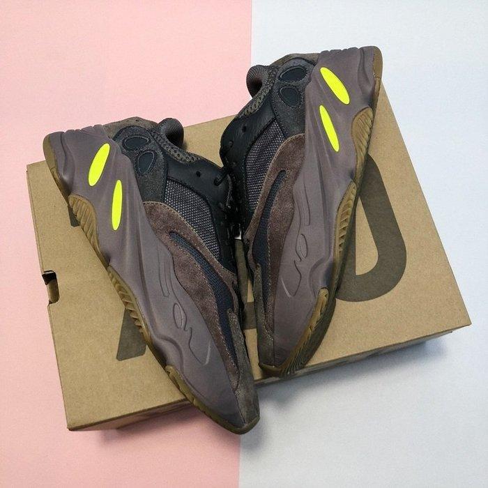 Yeezy BOOST 700 Mauve 咖啡色 麂皮 反光 肯爺 休閒慢跑鞋EE9614