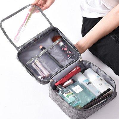 萬用旅行收納防水分裝盥洗包 陽離子防水面料  雙層防水盥洗化妝包