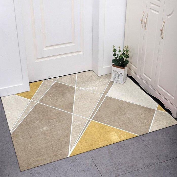 『angel.時尚』 進門地墊居家用入戶門口地毯走廊玄關廚房衛生間吸水防滑可裁剪腳墊
