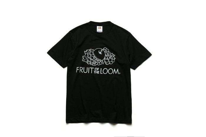 Fruit of the loom 經典LOGOT 水果牌 黑色