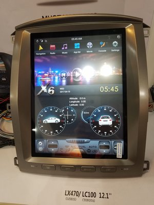 "YOKOTRON ""12.1"" Android car player for Lexus LX470 with GPS 1998-2007"