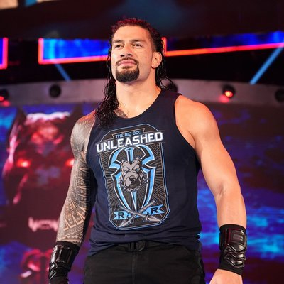 ☆阿Su倉庫☆WWE摔角 Roman Reigns Big Dog Unleashed Tank Top 吊嘎背心熱賣中
