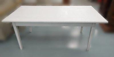 【宏品二手家具館】全新中古原木傢俱 E1185*白色6尺會議桌*洽談桌 會議桌椅 泡茶桌椅 辦公設備 冰箱 冷氣新竹台北