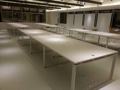 【耀偉】OTTO系統工作站 (辦公桌/辦公屏風-規劃施工-拆組搬遷工程-組合隔間-水電網路)11
