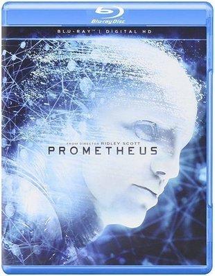 BD 全新美版【普羅米修斯】【Prometheus】Blu-ray 藍光