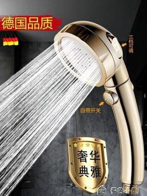 ZIHOPE 淋浴增壓花灑噴頭洗澡沐浴手持花酒衛生間通用淋雨蓮蓬頭軟管套裝ZI812
