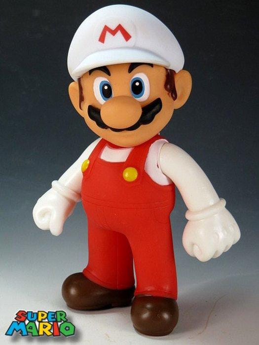 【 金王記拍寶網 】M148  SUPER MARIO 超級瑪莉歐  公仔一尊  罕見稀少~(((瑪莉歐公仔賣場)))