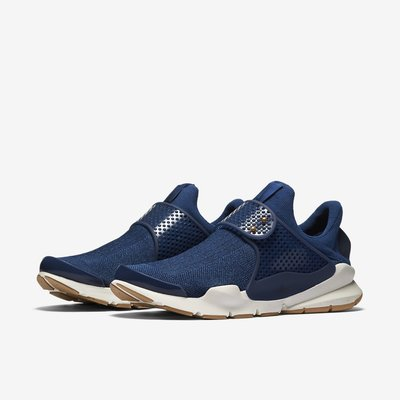 =CodE= NIKE WMNS SOCK DART 襪套式透氣網布慢跑鞋(深藍)848475-400 膠底 女男 預購