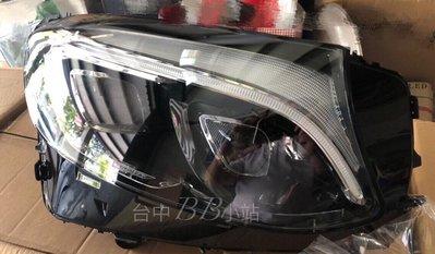 『台中-BB小站』BENZ GLC W253 美規車專用全LED大燈改雙魚眼一抺藍光大燈