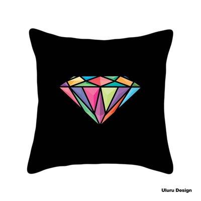 歐美風格 Black x Diamond 抱枕 枕套/枕芯 Uluru Design 客廳 Loft工業風 居家裝飾