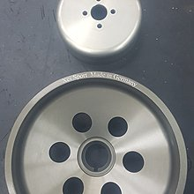 Benz 賓士M271 輕量化曲軸普利盤+輕量化水幫浦皮帶盤C200K W212 W204 W203 W211 W209