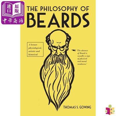 [文閲原版]The Philosophy of Beards 英文原版 胡子的哲學