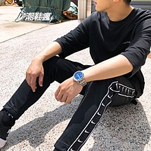 ⚡️潮鞋瘋⚡️NIKE AS M LOGO STMT PANT黑色 串標白小勾 運動長褲 男 AR3143-010