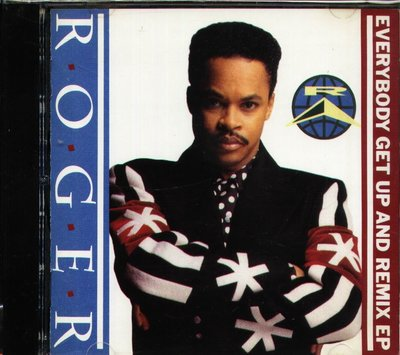 K - Roger - Everybody Get Up & Remix Ep - 日版
