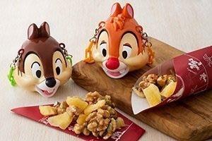 《東京家族》東京迪士尼限定 奇奇&蒂蒂造型 糖果盒吊飾 (不含圖片中堅果喔)