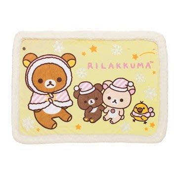 San-X 日本正版 Rilakkuma 鬆弛熊 輕鬆熊 毛毯 毛氈 冷氣被