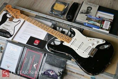 """夢幻逸品2006 Fender C/S Masterbuilt Eric Clapton """"Blackie"""" Relic"""