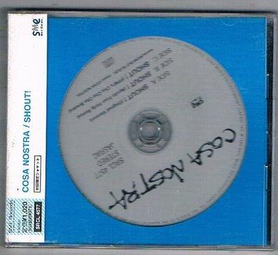 [鑫隆音樂]日本CD-COSA NOSTRA SHOUT! {SRCL4577} 全新/免競標