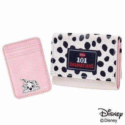 ☆Juicy☆日本mini雜誌附錄 迪士尼 101忠狗 短夾 皮夾 收納包 票夾 零錢包 小物包 2086