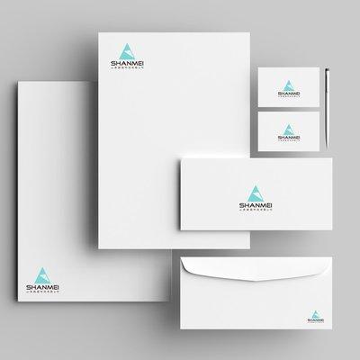 【山美】商標文具設計  商品簡介設計 型錄設計 文具系列商品