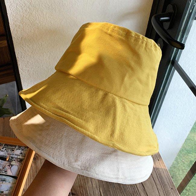 【FAT CAT HOUSE胖貓屋】日系大簷漁夫帽 韓版百搭日系單面夏季防曬太陽帽子 防紫外線遮臉遮陽帽 品質保證