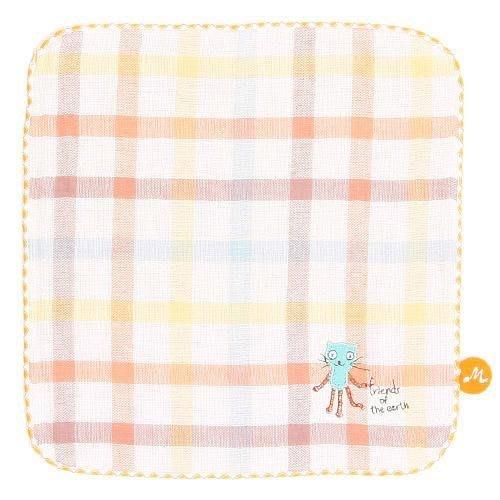 日本製 金治產 Kontex彩格動物方巾