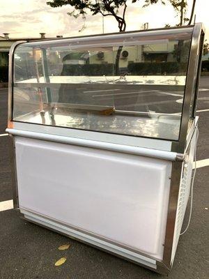 全新 4尺1冷藏展示台 / 黑白切台 / 鹹酥雞台
