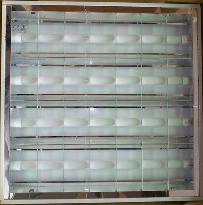 LED輕鋼架燈2尺四管辦公室/ 神明廳/客廳/臥室/廚房用燈具LED日光燈附2尺LED燈管4支