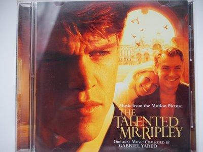 【月界二手書店】The Talented Mr. Ripley-天才雷普利電影原聲帶(絕版)_麥特·戴蒙 〖專輯〗ACT