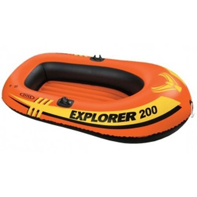[休閒時尚] INTEX 充氣船 185x94cm(只有船) 耐重95Kg 58330 (保固一年) 裸裝