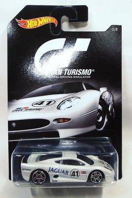 【V】風火輪 Hot Wheels GT 跑車浪漫旅 Jaguar XJ220 (Tomica)