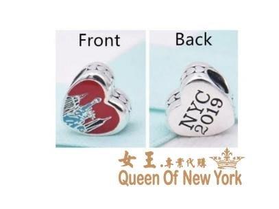【紐約女王代購】Pandora 潘朵拉 迪士尼新款2019紐約市限定愛心串珠 925純銀 美國正品代購