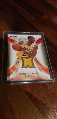 KOBE BRYANT 2008-09 HOT PROSPECTS GAME USED JERSEY CARD 球衣卡