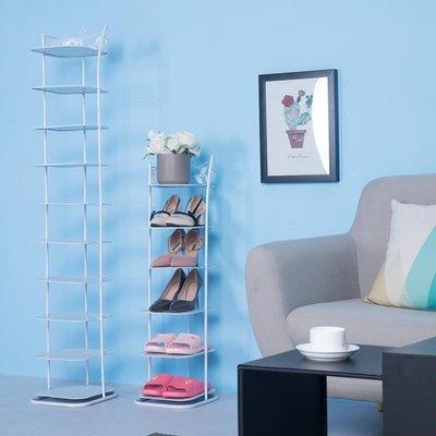 鞋架多層簡易客廳家用鐵藝經濟型多功能簡...