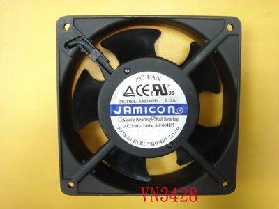 【全冠】JAMICON 工業風扇 鋁製風扇 鋁殼風扇12*12*3.8公分110V JA1238H2 (VN3428) 台南市