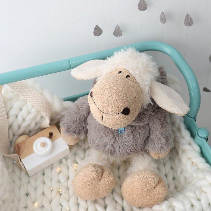 毛絨玩具 玩偶 禮物卡通可愛萌萌噠披著狼皮的羊咩咩玩偶公仔少女心毛絨玩具生日禮物