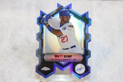道奇隊球星~Matt Kemp 麥特·坎普~2013 Topps Chrome Die-Cuts 亮面切割特卡~非常少見