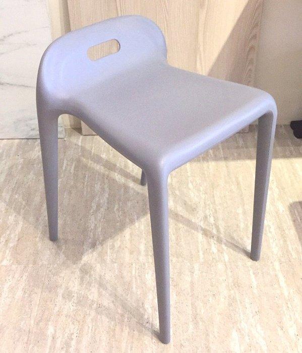 [ 椅子王 ]----馬椅  《PP製造》