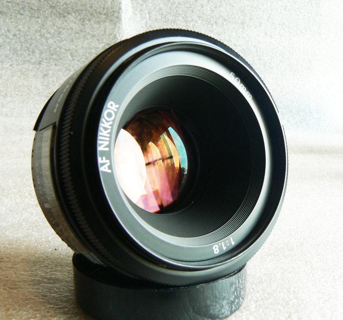 【悠悠山河】*難得絕版同新品*早期玻璃鏡 非D鏡 非近代環保鏡 Nikon 原廠 AF Nikkor 50mm F1.8