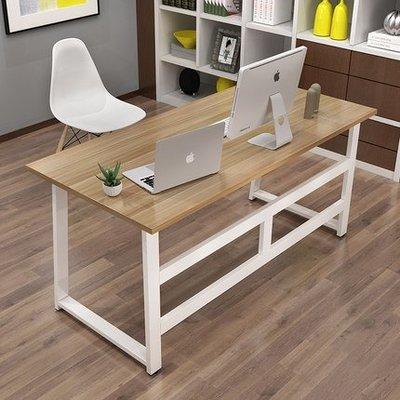 『i-Home』簡約電腦桌台式桌家用簡易小書桌現代辦公桌寫字台雙人桌子經濟型