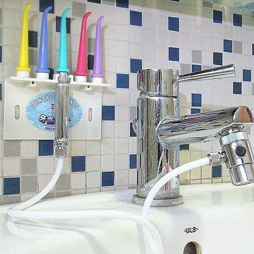 SPA洗牙機*沖牙器機*潔牙器*2組.牙科牙醫師推薦牙齒矯正器及安裝假牙植牙刷牙套衛生清潔必備用品,可搭配敏感牙膏漱口水