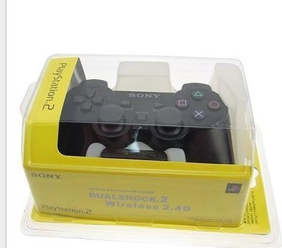 副廠 全新 PS2 手把 2.4G 無 線搖桿 無線手把 震動手把 PC PS2 通用