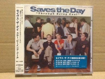 "~拉奇音樂~ SAVES THE DAY ""Through Being Cool"" 日本版 宣傳片 全新未拆封"