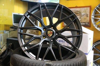PORSCHE CAYENNE E3 958.2 21吋22吋鍛造訂製鋁圈~客製化規格顏色,MACAN PANAMERA
