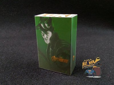 [熊拍賣] 『HT 洛基1.0盒子』1:6 HT洛基盒子模型 Hot Toys MMS176 復仇者聯盟版 LOKI