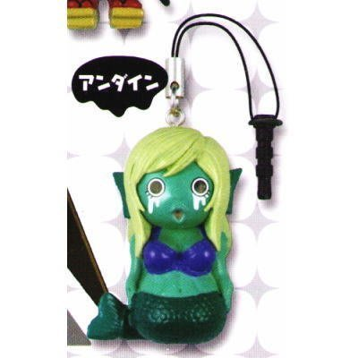 【動漫瘋】日版 現貨 KOROKORO 轉蛋 召喚惡魔 阿薩謝爾 公仔 吊飾 單售 美人魚