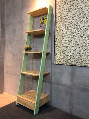 可訂做ZAKKA鄉村風木梯架(中島櫃檯收納櫃書架書架書櫃木工木箱玩具箱書櫃收納椅多肉植物檔案櫃玄關櫃中島飾品櫃文件櫃