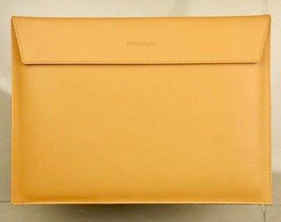 Apple MacBook Pro  15 適用 真皮革筆電保護包 筆電保護套 筆電包(橫式款)